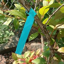 "Wrap Around Plastic Thermal Plant Labels 7"" x 3/4"" Nursery tree loop labels Usa"