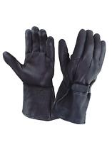 Men Motorcycle Gloves Leather Gloves Deerskin Gloves Fleece Lined Winter Glove