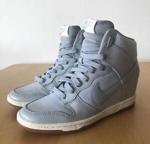 Nike Sky Hi Dunk Essential Grey Sneakers UK4.5 US7 EUR38