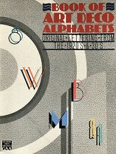 Book of Art Deco Alphabets Original Lettering from the 1920's & 30's