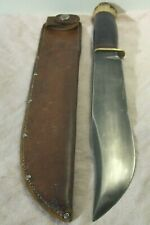 "1932~MARBLE'S~GRAND 15"" STAG POMMEL BOWIE~RARE ORIGINAL HUNTING & FIGHTING KNIFE"