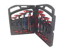 16 Stk. T Handel Kugel Sechskant Inbus-Schlüssel Inbusschlüssel Set