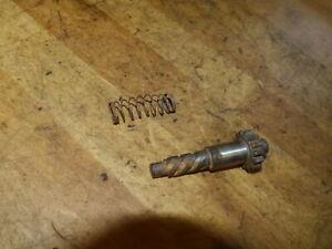 Anlasser Ausrücker Welle+Zahnrad / starter pinion shaft+gear / Honda FT 500-PC07