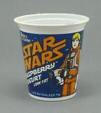 Star Wars Return of the Jedi Luke Skywalker Dairy Time Yoghurt Pot Vintage 1983
