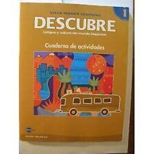 DESCUBRE, nivel 1 - Lengua y cultura del mundo his