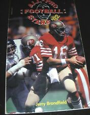 All-Pro Football Stars 82 By Herry Brondfield 1982 Paperback - Joe Montana Cover