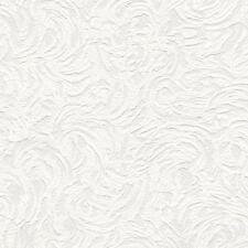 NEW BELGRAVIA RICHMOND SWIRL PATTERN PAINTABLE EMBOSSED VINYL WALLPAPER 5806