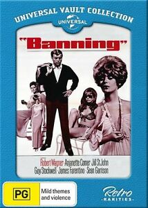 Banning - brand new dvd - free post! Robert Wagner