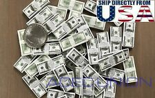 1/6 $100 US Dollars Cash Money Double Printed For 1/6 Figure Hot Toys USA SELLER