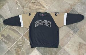 Vintage New Orleans Saints Galt Sand Football Sweatshirt, Size XL