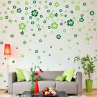 9 Colors Flowers Floral Home Decor Wall Sticker Room DIY Vinyl Art Decal Paster