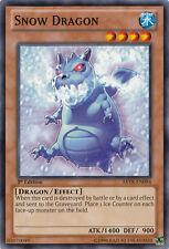 3x Snow Dragon - ABYR-EN094 - Common - 1st Edition YuGiOh NM ABYR - Abyss Rising
