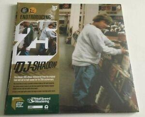 DJ Shadow - Entroducing 25th Anniversary Half Speed Double Vinyl LP 2021