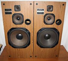 PROFESSIONALLY REFOAMED - Pioneer CS-G5000, 150W 3-Way Floor Standing Speakers