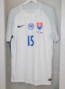 Match worn shirt Slovakia national team Marseille France Trabzonspor Zenit L