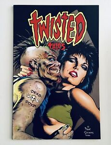 TWISTED TALES (Nov 1987), Horror Anthology, Eclipse, DAVE STEVENS Cover, NM, 9.6