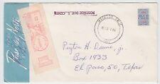 USA - BLUE CHIP Stamp Company (AFK / 156) - auf Brief mit Nachgebühr der US-Post