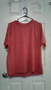 Red Champion Short Sleeve Shirt Size Large