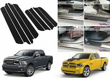 8pc Door Entry Scuff Guards For 2009-2018 Dodge Ram Crew Cab New Free Shipping