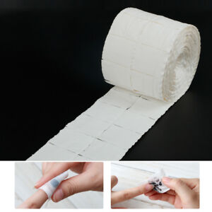 500X Nail Polish Remover Cleaner Wipes Acrylic UV Gel Tips Cotton Pads Lint Free