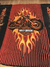 Reversible Harley Davidson Full Size Comforter Flame