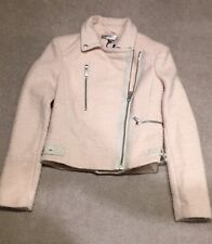 M&S Limited Edition Wool Blend Biker Jacker Size 6