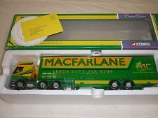 A Corgi  cc 75602, Renault Premium, curtainside trailer, MacFarlane transport