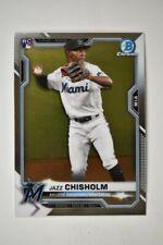 2021 Bowman Chrome Base #57 Jazz Chisholm - Miami Marlins