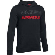 Under Armour Kid's UA Titan Fleece Hoodie - YMD (9-10) - Black