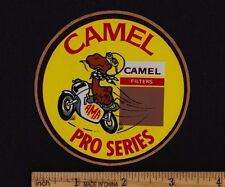 CAMEL PRO SERIES Original STICKER Vintage 1970s AMA Dirt Track Road Racing AHRMA