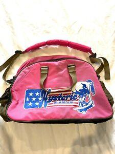 Japanese designer vintage 1990's Hysteric Glamour holdall bag
