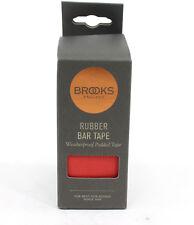 Brooks Cambium Rubber Bar Tape Road Bike Handlebar Tape, Red