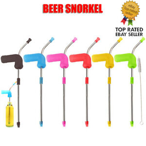 Beer Snorkel Funnel Drinking Games Hens Buck Party Entertainment