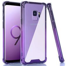 For Samsung Galaxy S9 Case Clear Ombre Shockproof Flexible TPU Bumper Cover Soft