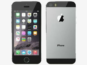 Apple iPhone 5s - 16GB - Space Gray (Unlocked) A1453 (CDMA + GSM)