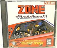1995 Zone Raiders Windows PC CD-ROM 8786 Video Game Racing Battle