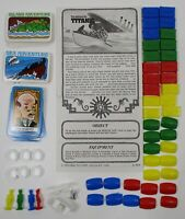 Vintage The Sinking of the Titanic Board Game 1976 Ideal Replacement Pieces