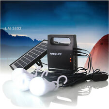 Outdoor Portable Solar Generator Energy Storage Mobile Power Supply Home System