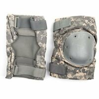 US Military ACU Digital camo knee pads size large and good condition Free Ship