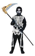 Kids Skeleton Halloween Fancy Dress Costume 5-7 Years Outfit