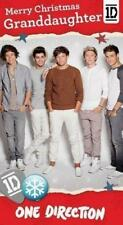 ONE DIRECTION GRANDDAUGHTER CHRISTMAS CARD NEW GIFT