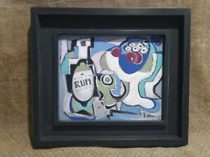 Cubist Orig  C20th  Oil, Signed Filla