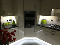 Kitchen Under / Above Unit Plinth Display Cabinet Energy Saving LED Strip Lights