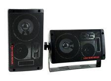 Pyramid 2060 300W 3-Way Car Audio Mini Box Speakers Indoor Stereo System (Pair)