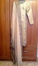Designer Bridal Piece Khushboo's By Chand Outfit Salwar Kameez 12-14