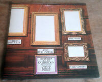 EMERSON LAKE & PALMER pictures at an exhibition '71 ORIG UK STEREO BLACK ISLAND