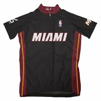 NBA Miami Heat Women's Short Sleeve Cycling Away Jersey, Medium, Black