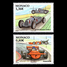 Monaco 2016 - Legendary Race Cars Formula 1 - MNH