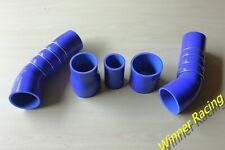 SILICONE TURBO Intercooler HOSE FOR Audi 2.5T TTRS or RS3 MK2 2009-  BLUE 4-PLY