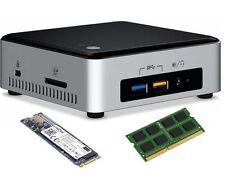 Intel nuc5i7ryh nuc core i7 3.1 ghz-MX200 crucial ssd de 250 go m. 2 - 8 go ddr3l ram
